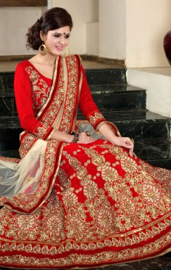Indian Designer bridal lehenga choli and saree at Fashionothon for wedding festival 2017 to 2020